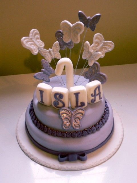 Butterfly Birthday Cake Photos