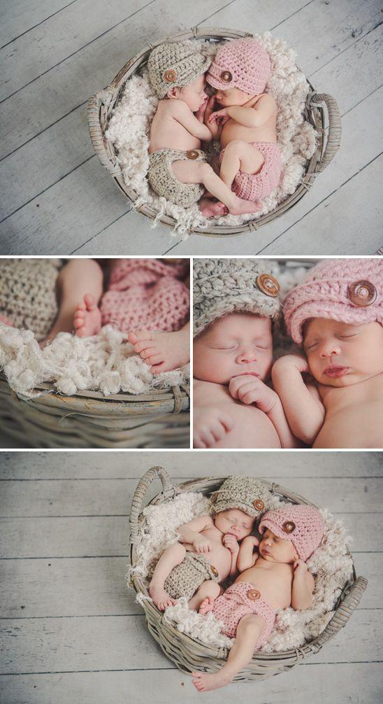 Gray and Aqua Twins Nursery: