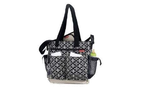 Black Trellis Diaper Bag By Skip Hop