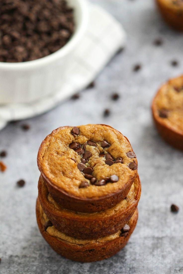 How to Make Flourless Peanut Butter Banana Blender Muffins