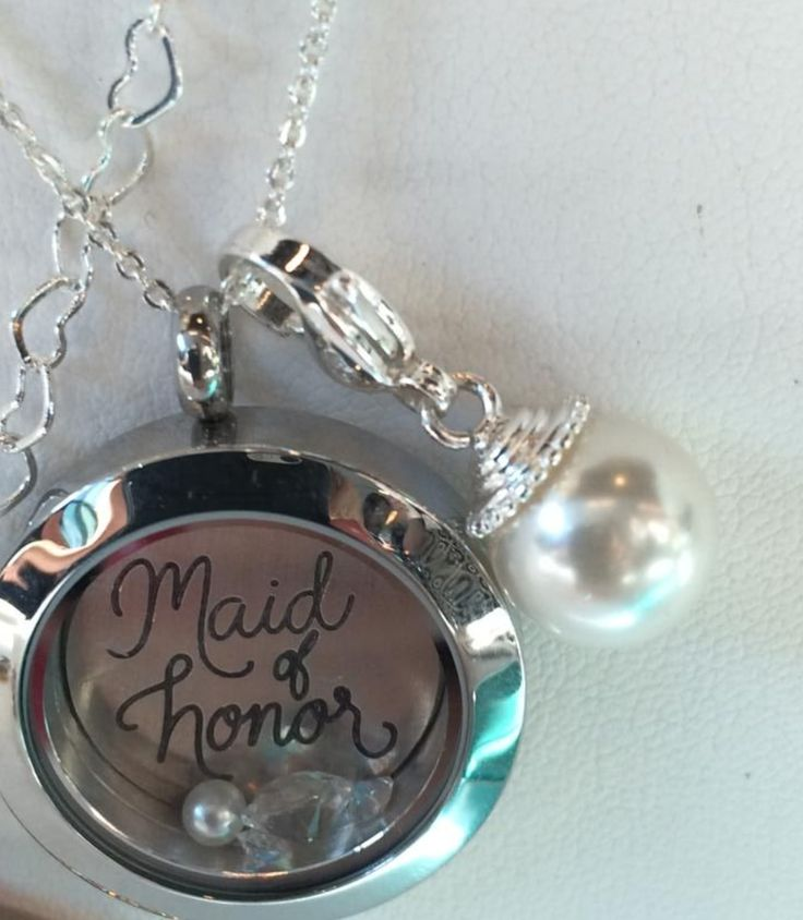 Maid of Honor gift from Bride. Also available are Mother of Bride, Mother of Groom and Brides Maid. www.rpm.origamiowl.com