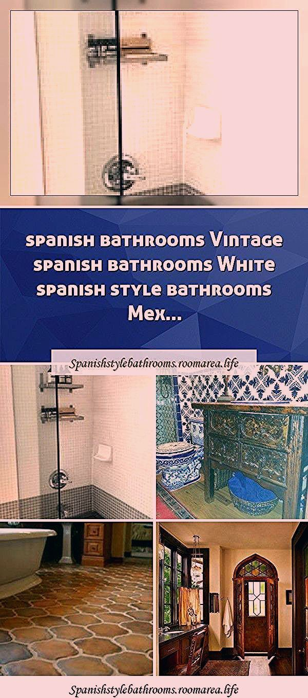 Spanish Bathrooms Colorful Spanish Bathrooms Hacienda Style Spanish Bathrooms You Are In The In 2020 Spanish Style Bathrooms Spanish Bathroom Bathroom Styling