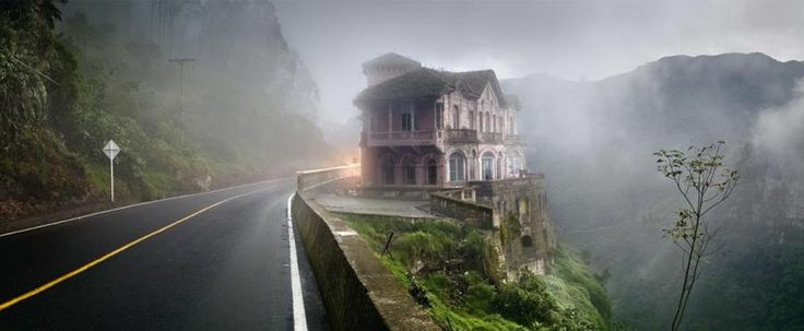 Abandoned hotel in Columbia - Tequendama Falls Museum