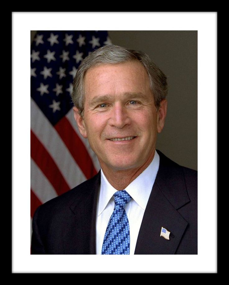 President George W. Bush 11x14 Print Official Portrait USA GOP Republican | Collectibles, Historical Memorabilia, Political | eBay!