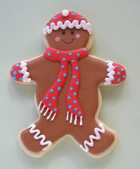 gingerbread man cookie | Cookies | Pinterest