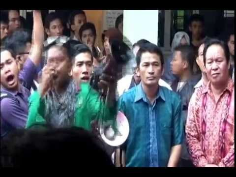 Poros Perjuanagan Mahasiswa (PPM) Tuntut Hak Mahasiswa dipenuhi