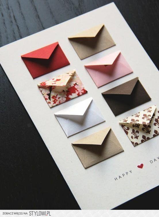 Kartki , etui i kolorowe torby ; D ( i niespodzianka ) | Zrób to sam