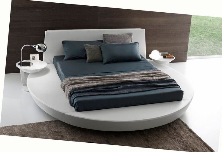 Wow! The best looking round bed we've come across. Italian design at it's best.