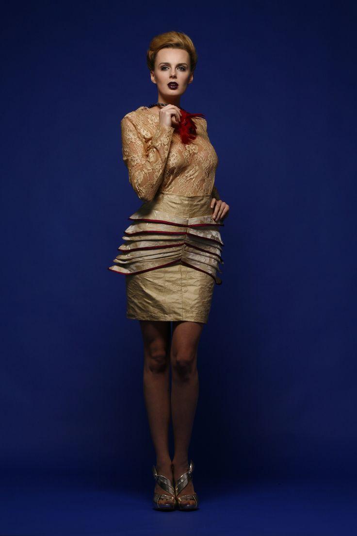 spódnica i koronkowa Bluzka  Gabriela Hezner