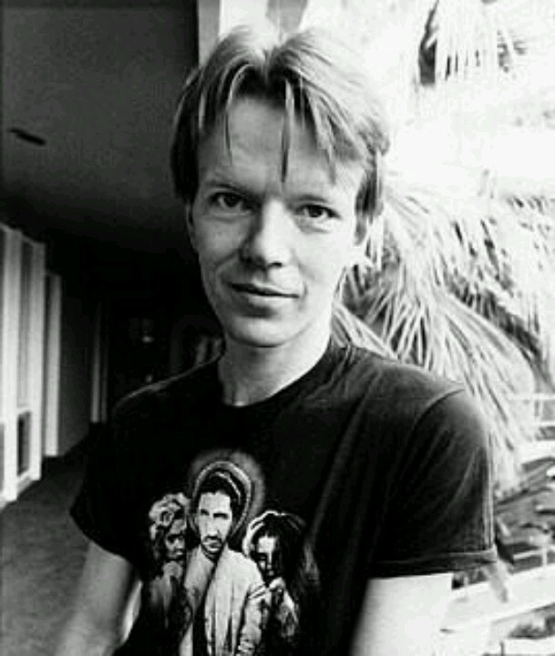 Jim Carroll. I met him when I was 14. He was a very nice man who had a great way of telling a story.