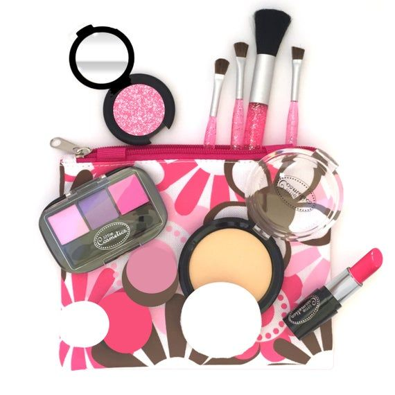 Pretend Makeup Touch Up Set Etsy In 2020 Pretend Makeup Play Makeup Kids Makeup