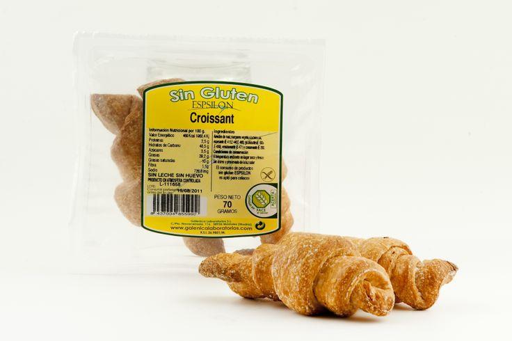 Croissant Sin Gluten Sin Huevo Sin Leche