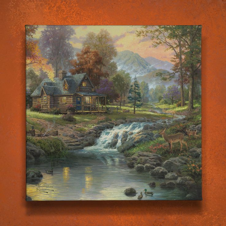 1000 images about autumn home decor on pinterest - Home interiors thomas kinkade prints ...