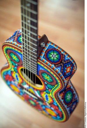 guitar Huichol
