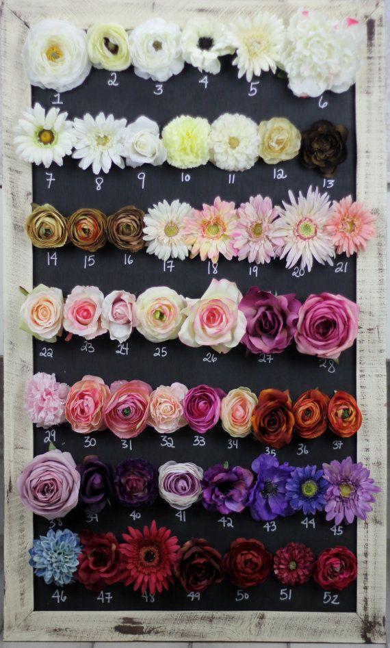 Silk Flowers DIY Wedding Decorations You Pick by braggingbags, $8.00