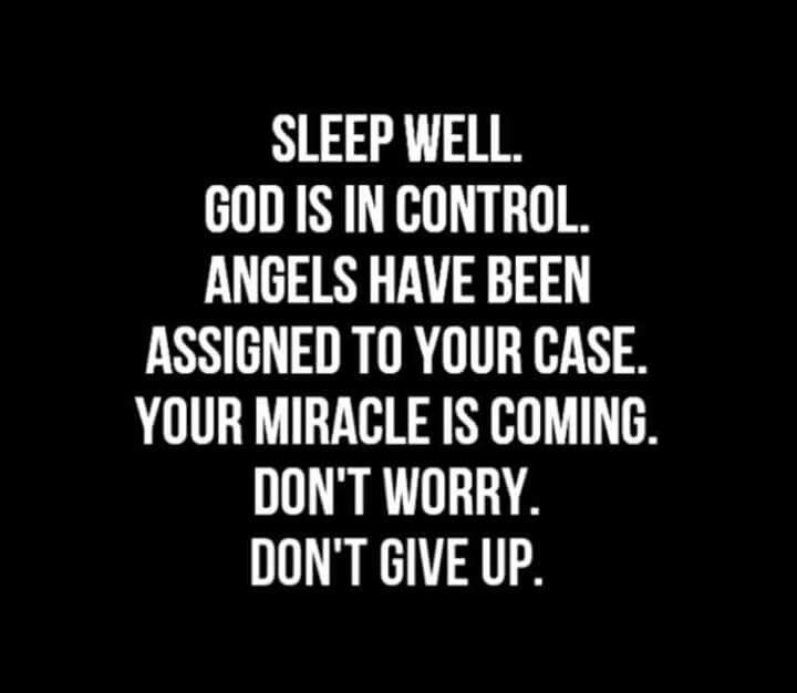 God is control!