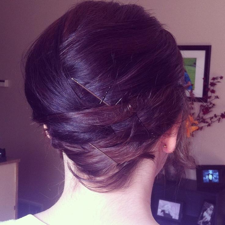 Easter Hair Updo For Short Hair Taylor Pinterest