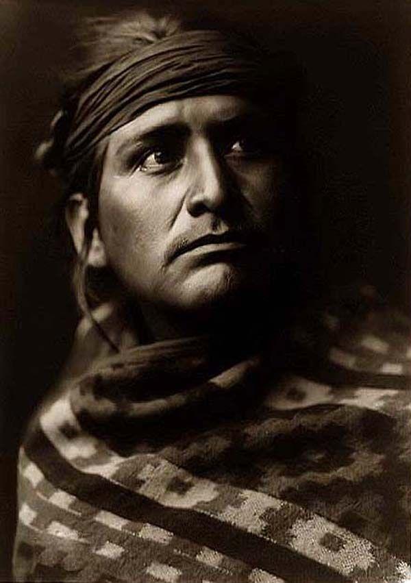Navaho Chief, Edward S. Curtis, 1904