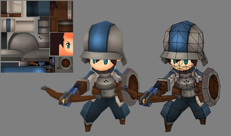 Soldier Model by EelGod on deviantART