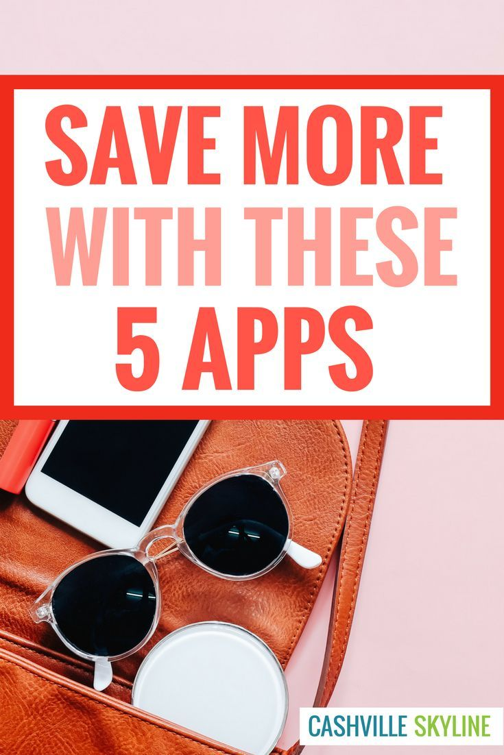 These are my favorite money saving apps! I've used these apps to save $100+ extra per month. Saving money has helped me pay off debt, build an emergency fund, and invest!