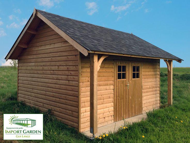Le charme British de l'#abri de #jardin #cottage ;-)