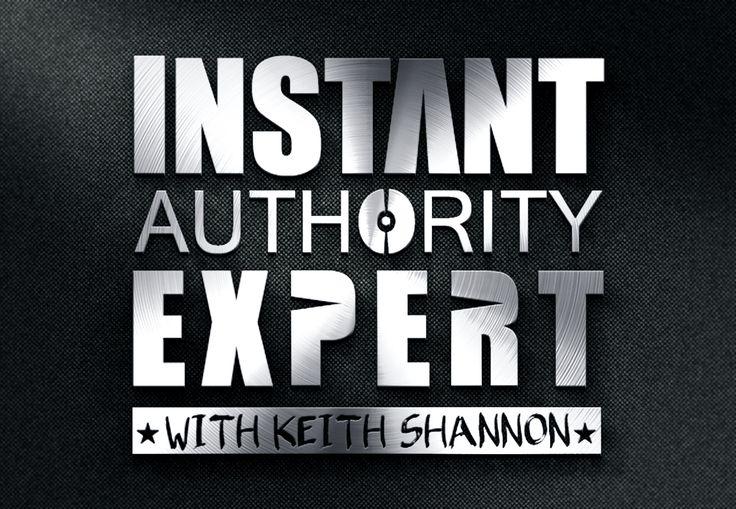 """Logo """"Instant Authority Expert"""""""