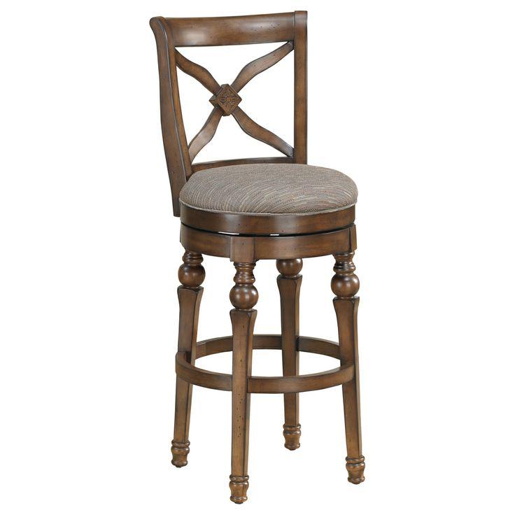 hadleigh 30 inch sienna swivel bar stool. Black Bedroom Furniture Sets. Home Design Ideas