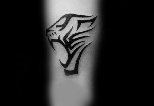 Tribal Tiger Tattoo For Men In 2020 Tribal Tiger Tattoo Tribal Tiger Tiger Tattoo Small
