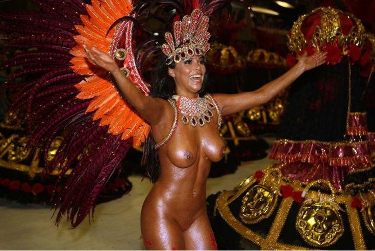 карнавал с голыми негритянками - 14