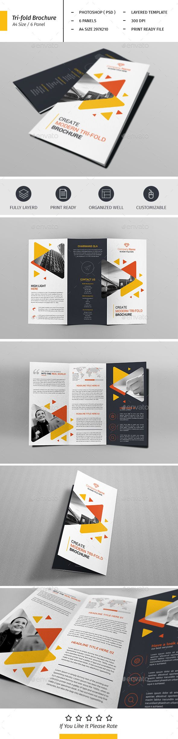 A4 Corporate Business Flyer Template Vol 02