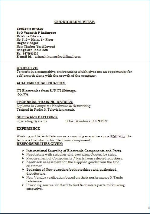 94  7 components of a resume