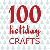 100 holiday crafts @Chrystal von Ward Matix, did you see this one too?  It has some of the same things, but some new ones too.  How do we choose?!