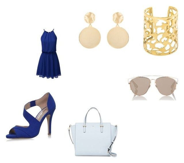 """""""outfit 43"""" by missfede on Polyvore featuring moda, Miss KG, Kate Spade, Mounser e Christian Dior"""