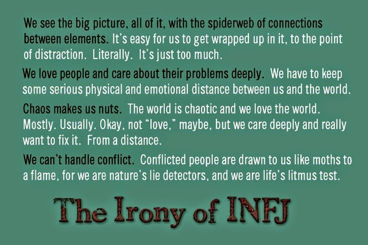 infj trouble dating 10 contradictory traits of the elusive infj male  (because i have trouble following conversations)  infj dating bible or.