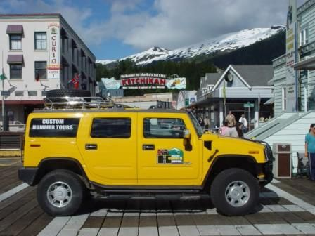 Take a private, customized tour on Ketchikan Alaska with Alaska Hummer Adventures!  You name it - they'll do it!