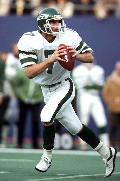 The New York Jets selected O'Brien as the 24th pick in the first round of the 1983 NFL Draft, amazing observers who expected the team to choose fellow quarterback Dan Marino; Marino, a future membe...