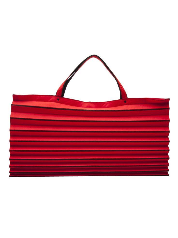 Issey Miyake Vintage Iconic Pleated Tote - Amarcord Vintage Fashion - farfetch.com