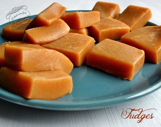Fudges - testés et approuvés : caramels mous au bon goût de miel, à refaire !