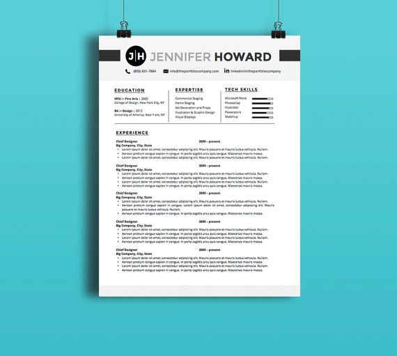 50+ best resume templates images by Jesse Hoffman on Pinterest
