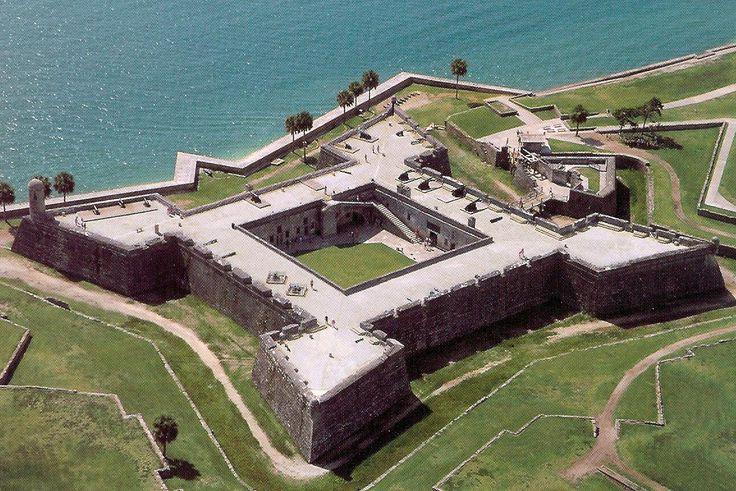 Castillo De San Marcos, St Augustine Florida