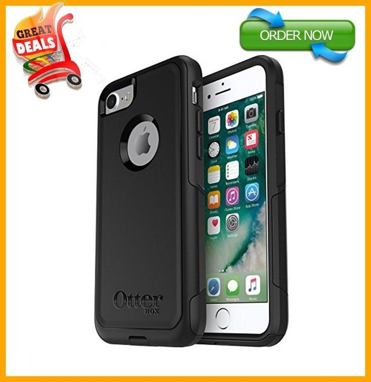 OtterBox COMMUTER SERIES Case For iPhone 7 ONLY Retail Packaging Black FAST SHIP #OtterBox