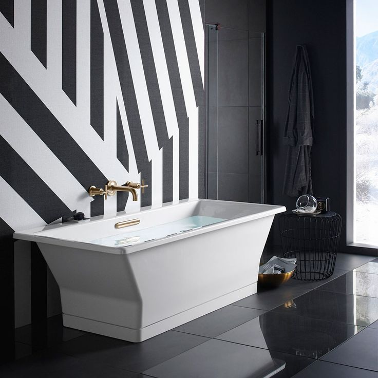Add A Striking Centerpiece To Your Bathroom With This Reve Freestanding Bath  That Doubles As A