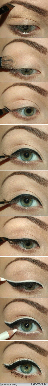 Make-Up Ideas Step-By-Step Kto umije? na Fryzury i makijaże - Zszywka.pl
