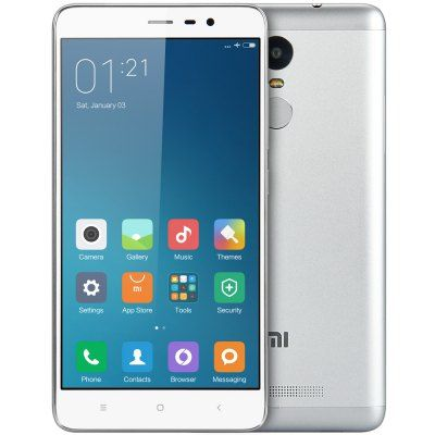 #XIAOMI #REDMI Note 3 first #video 32GB 4G Phablet  -  #SILVER  5.5 inch #Android 5.0 #Helio X10 Octa Core 2.0GHz #Fingerprint ID 32GB ROM 13.0MP + 5.0MP Camera