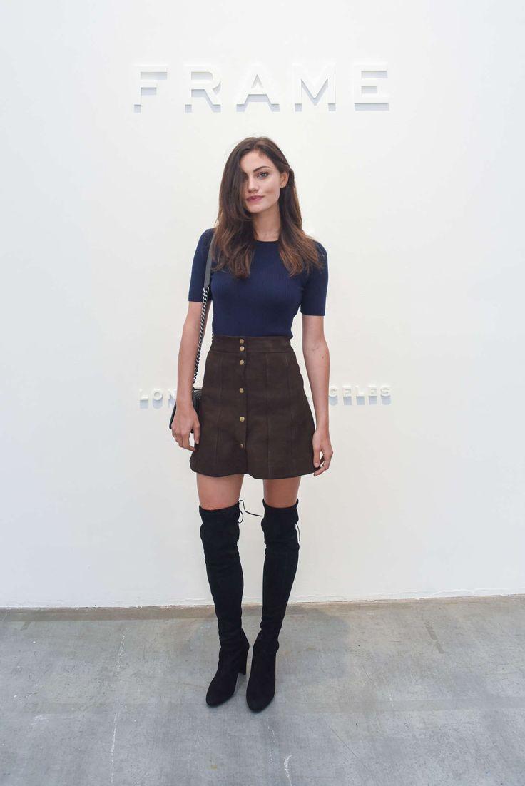 International Celebrities: Phoebe Tonkin – FRAME Denim Fashion Show Spring 20...