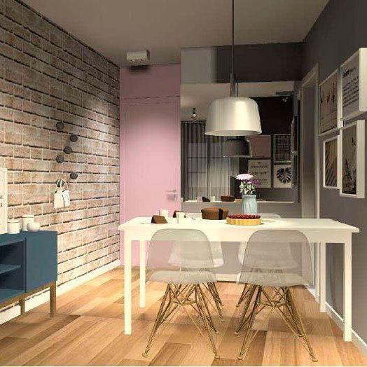 Anteprojeto em andamento com pequenas alterações. #meuapartamentinho #apartamentodasá