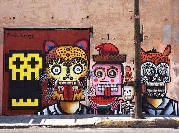 Neuzz: Arte urbano mexicano