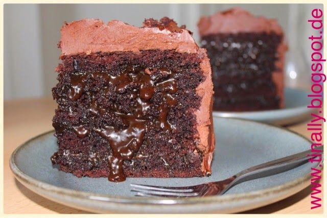 Tinally's Bakery: Salzige Karamell- Schokoladentorte mit 6 Schichten