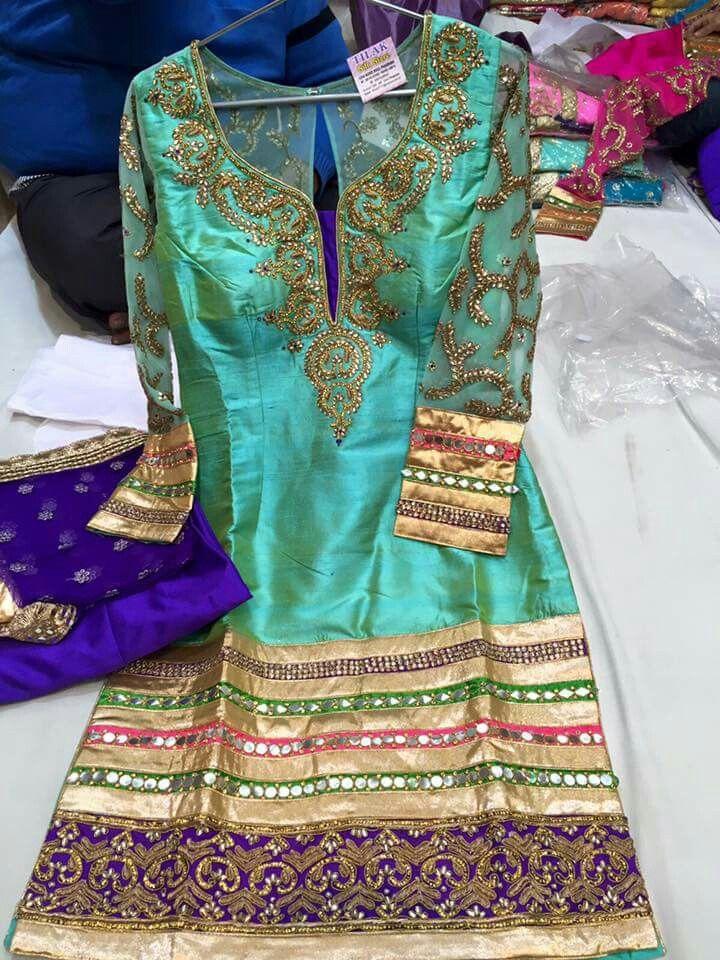 Aqua salwar suit