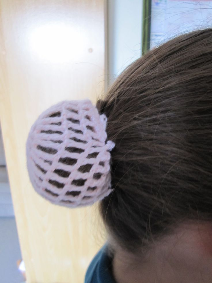Bun covers which can match any outfit or hair colour!